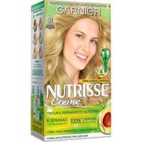 Coloração Nutrisse Garnier 91 Louro Sol Da Liberdade Louro - Unissex-Incolor