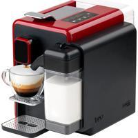 Máquina De Café Expresso Barista Três Corações Vermelha 110V