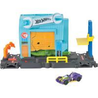 Pista Hot Wheels - City Gator Garage Attack - Mattel