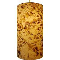 Luminária De Teto Folha Seca 18X35 60W Bivolt