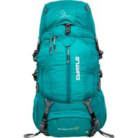 Mochila Cargueira Curtlo Mountaineer 40+5L Lady Fit Verde