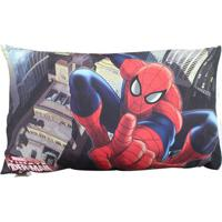 Fronha Marvel Spider Manâ®- Vermelha & Azul- 70X50Cm