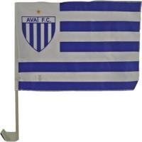Bandeira Avai Para Carro Oficial 35 X 25 Cm Mitraud - Unissex