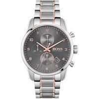 Relógio Hugo Boss Masculino Aço Prateado E Rosé - 1513789