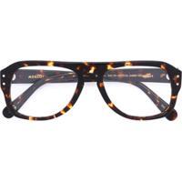 Moscot Óculos De Grau 'Sechel' - Marrom