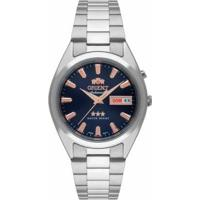 Relógio Orient D1Sx Masculino - Masculino-Prata