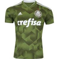 Camisa Do Palmeiras Iii 2018 Adidas - Masculina - Verde Escuro