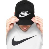 Boné Nike True Futura Preto