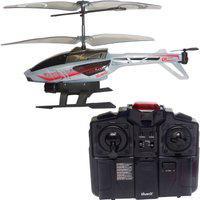 Helicóptero De Controle Remoro - Heli Blaster - Cinza Canal C - Dtc