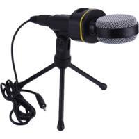 Microfone Condensador Bmax Sf-930 Cinza/Preto