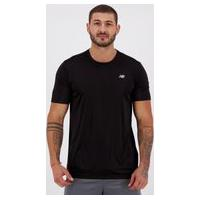 Camiseta New Balance Authentic Preta