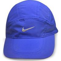 Bone Masc Nike 234921-452 Dri-Fit Spiros Running Azul