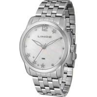 Relógio Lince Ref: Lrm4552L Ku93B2Sx Feminino - Feminino-Prata