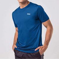 Camiseta Fila Basic Sports Masculina Azul