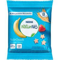 Biscoito Nestlé Naturnes Nutrisnack Morango E Banana 7G