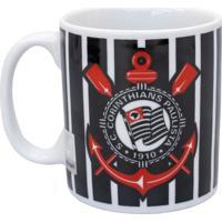 Caneca Minas De Presentes Porcelana Corinthians - Preto - Dafiti