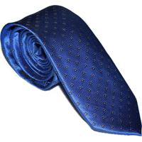 Gravata Azul Royal Slim 4023 - Azul - Masculino - Dafiti