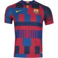 bc1580c572 Camisa Barcelona 20 Anos Nike - Torcedor - Azul Vinho