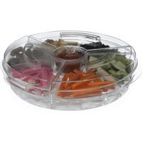 Conjunto Petisqueira Ice Plastico Transparente