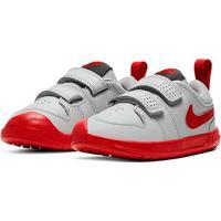 Tênis Infantil Nike Pico 5 - Unissex-Cinza+Vermelho