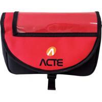 Bolsa Para Guidão De Bicicleta Com Faixa Refletora Acte Sports A26
