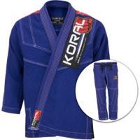 Kimono Jiu-Jitsu Koral Mkm Competition - Adulto - Azul