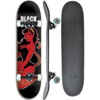 Skate Completo Profissional Black Star Diaba 8.0 - Unissex