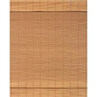Persiana Soho Romana Bambu 140X140 - Evolux - Oak