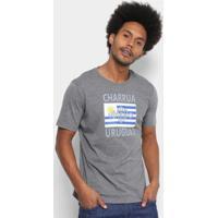 Camiseta Grêmio Charrua Umbro Masculina - Masculino