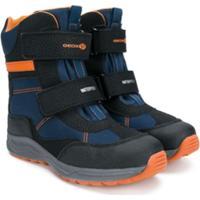 Geox Kids Bota Com Velcro - Azul