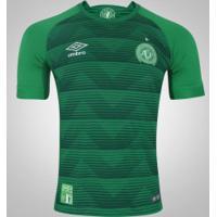 Camisa Da Chapecoense I 2017 Umbro - Masculina - Verde/Branco