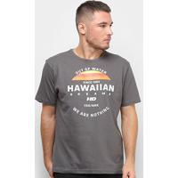 Camiseta Hd Horizon Masculina - Masculino-Cinza
