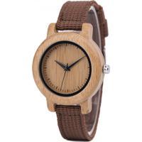 Relógio Madeira Dododeer-B05 Verde - Feminino