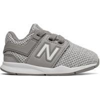 Tênis New Balance 247 Infantil Masculino - Masculino-Cinza