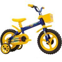 Bicicleta Aro 12 Arco-Iris Azul Track & Bikes