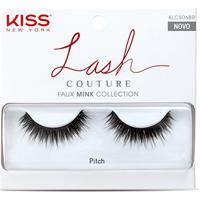 Cílios Postiços Kiss New York Lash Couture Pitch - Feminino-Preto