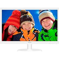Monitor 21,5´´ Led Philips Branco-Hdmi-Vga-Full Hd-Vesa - 223V5Lhsw