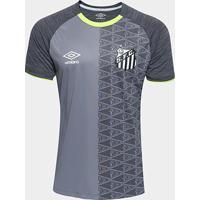40c97f7035a89 Camisa Santos Aquecimento 2018 Umbro Masculina - Masculino