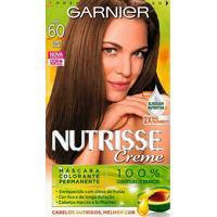 Tintura Garnier Nutrisse Kit Creme Cor 60 Aveia Louro Escuro