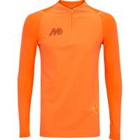 Camiseta Manga Longa Nike Mercurial Dry - Masculina - Laranja