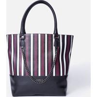 Shopping Bag Print Kita Est Listra Kita Preto - U