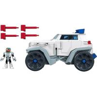 Playset Imaginext - Teens Titans - Dc Comics - Veículo Do Cyborg - Fisher-Price - Masculino-Incolor