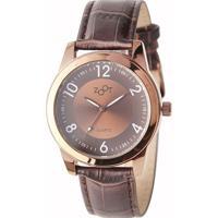 Relógio Zoot - Bristol Analógico Marrom