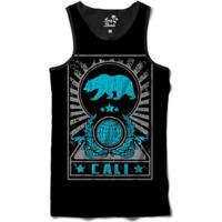 Camiseta Regata Long Beach Lb Cali Sublimada - Masculino