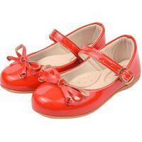 Sapatilha Infantil Vermelha Laço Menina B2A 1002 Vermelho