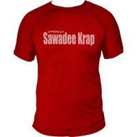 Camiseta Uppercut Muay Thai Dry Fit Swadee Krap Vermelha