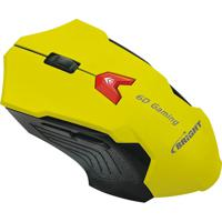 Mouse Gaming Amarelo Bright 0375