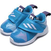 Tênis Adidas Performance Menina Fortarun X Frozen Cf I Azul