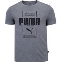 Camiseta Puma Box Tee - Masculina - Mescla