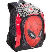 Mochila Infantil Spider Man 16Z - Masculino-Vermelho